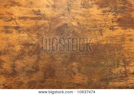 Wooden Desk Texture Close Up