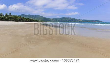 Lopes Mendes Beach In Ilha Grande Island, Brazil