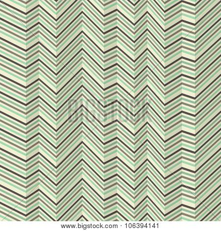 Zigzag Pattern Of Jagged Stripes