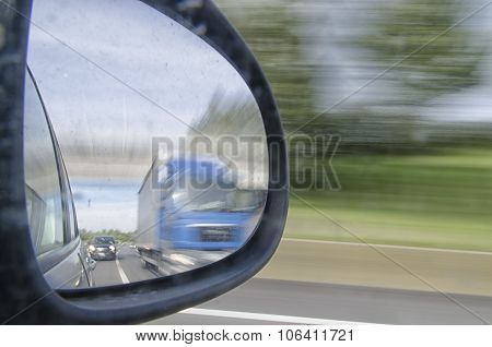 Overtaking A Truck
