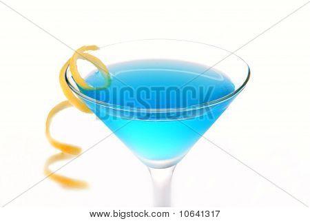 Blue Cosmopolitan Cocktail
