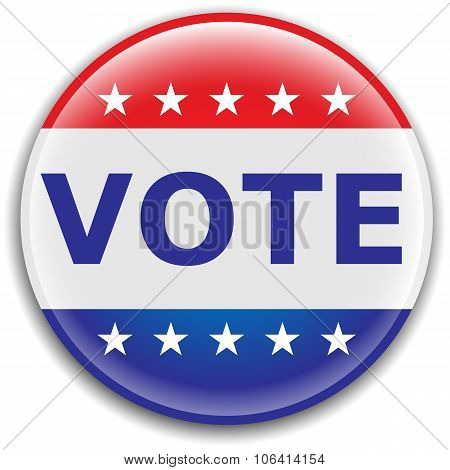 Vote Election Pin