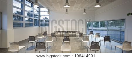 Conference room and multipurpose room