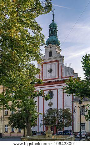 Augustinian Church, Tabor, Czech Republic
