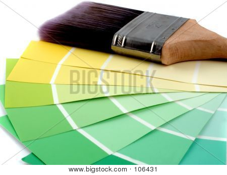 Paint Sampler Yellows