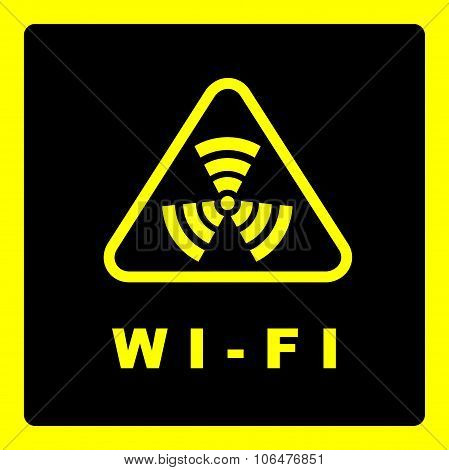 Sign Of Wi-fi Coverage.