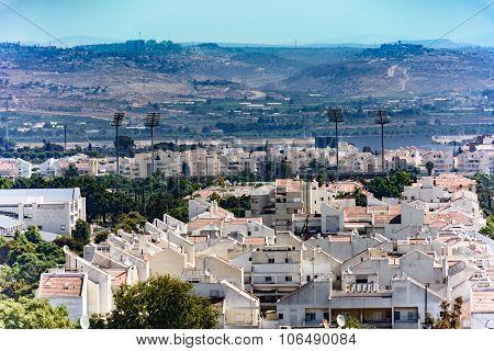 Bird's Eye View Of The Shomron Mountains