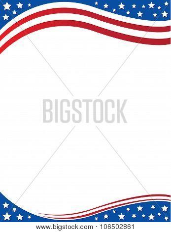 Patriotic Border Flyer
