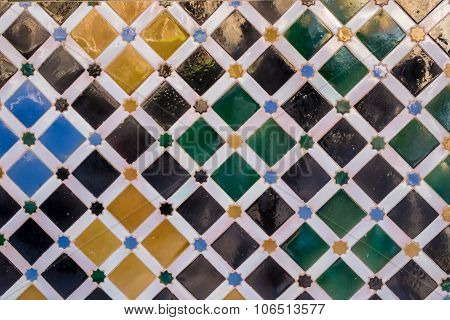 Pattern Of Antique Arabic Tiles