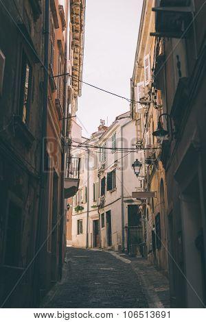 City Of Piran, Slovenia