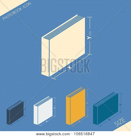Icon of various format photobook