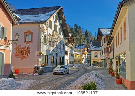 Upper Bavarian-styled Homes In Garmisch-partenkirchen