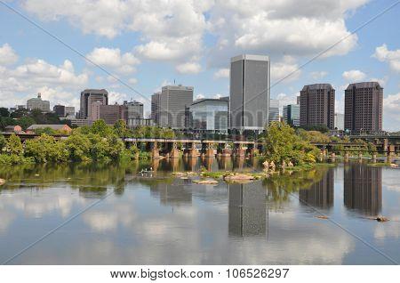 Skyline of Richmond, Virginia