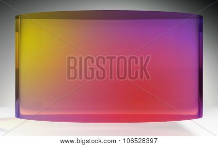 Futuristic Liquid Crystal Display Color