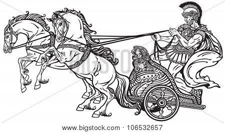 roman war chariot
