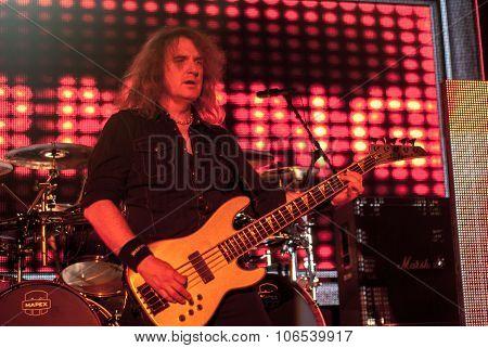 Megadeth live in Brisbane