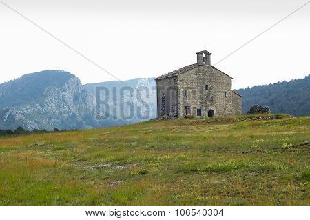 Little Church In French Alps
