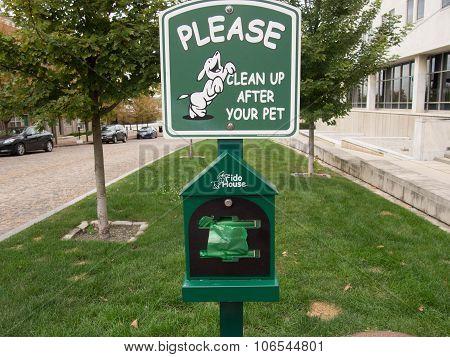 Pet Waste Station