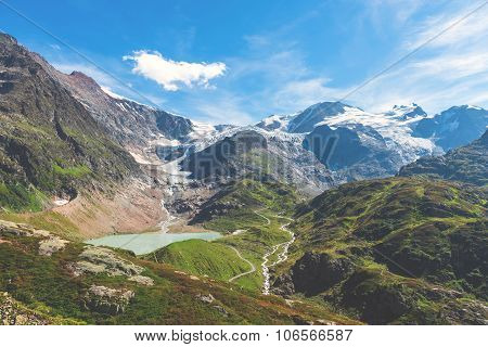 The Susten Pass Links The Reuss Valley At The Foot Of The Gotthard Mountain With The Hasli Valley In