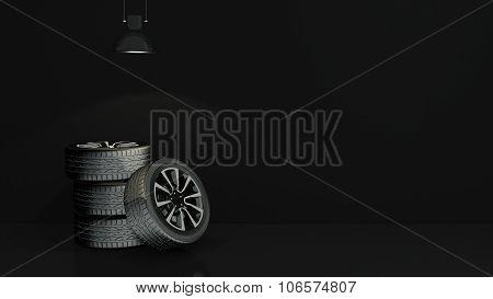 cartwheels in empty room