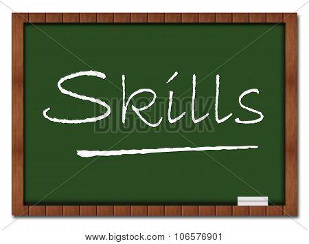 Skills Classroom Board