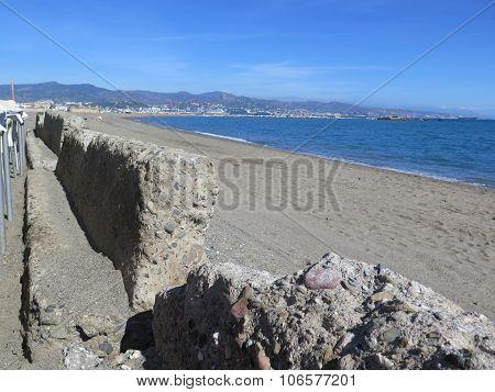 Old Concrete Seawall