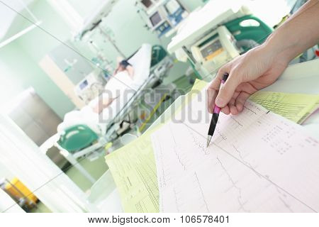 Monitoring Ecg In The Icu Ward