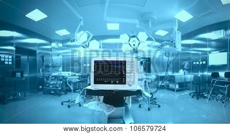 Innovative Technology In A Modern Hospital Operating Room