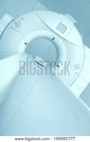 Newest Ct, Mri Scanner In A Modern Hospital
