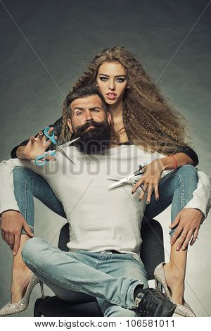 Young Glamour Couple