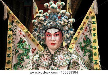 Cantonese opera dummy