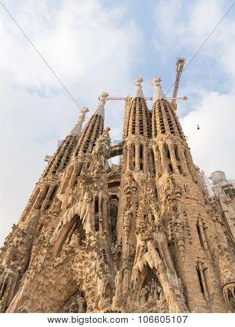 Amazing Sagrada Familia In Barcelona