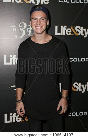 LOS ANGELES - OCT 29:  Josh Tryhane at the Life & Style Weekly's