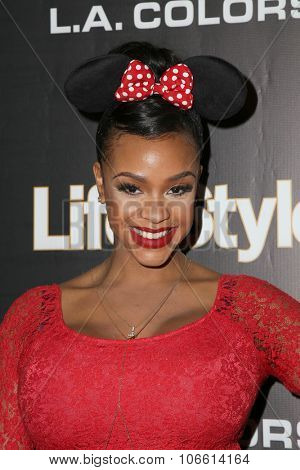 LOS ANGELES - OCT 29:  Masika Kalysha at the Life & Style Weekly's