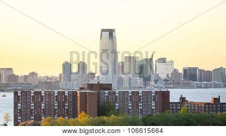 Jersey City And Governors Island