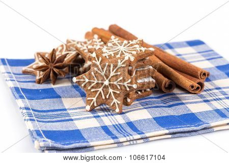 Hand-made Christmas Gingerbreads