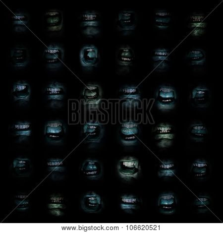 Wall of Mouths