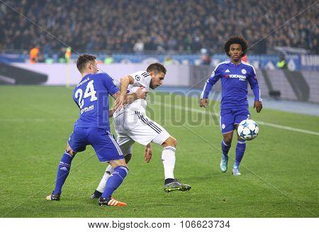Uefa Champions League Game Fc Dynamo Kyiv Vs Chelsea