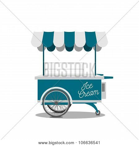 Ice-Cream Shop on Wheels for your Design