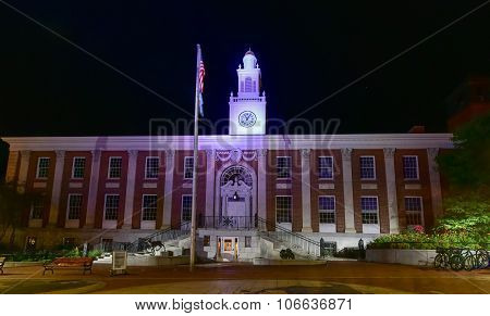 Burling Vermont City Hall