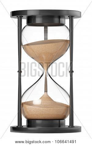 Closeup Sand Hourglass