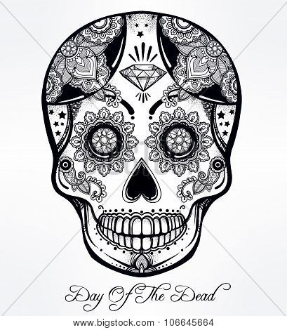 Day of the Dead sugar scull.