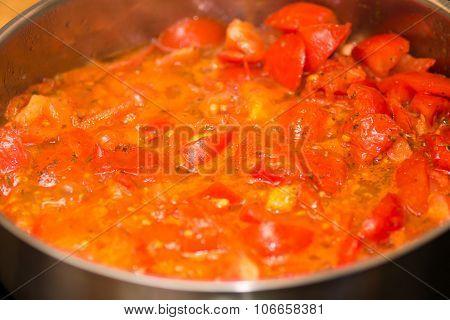 tomato  paste sauce