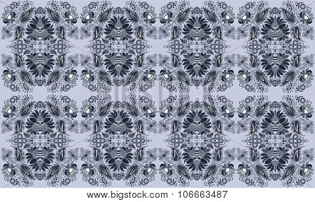 Beautiful and fashion floral pattern background