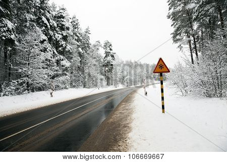 winter season.  track.