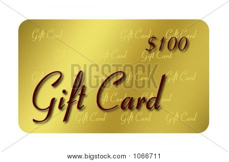 Gold Gift Card 1