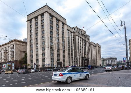 Okhotny Ryad house one