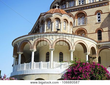 the Monastery of Saint Nectarios in Aegina Greece