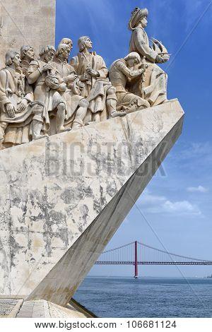 Discoveries Monument - Padrao Dos Descobrimentos, Lisbon, Portugal