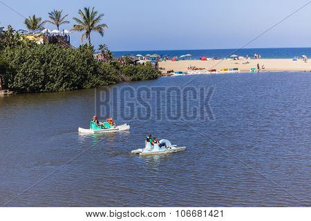 People Beach Ocean Holidays